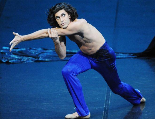 Nikolaï Tsiskaridzé en pleine performance