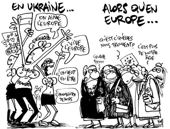 Parlons-nous de la même Europe ? Le 9 décembre, Lesoir.be, par Kroll.