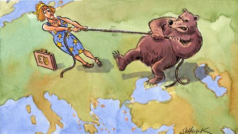 """""""Partenariat oriental: Moscou bloque le chemin vers l'UE""""  - Peter Schrank pour le Postimees, Tallinn, Estonie, le 25 septembre"""