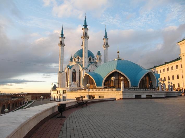 Mosquée Qolşärif, Kremlin de Kazan, Tatartsan, Russie